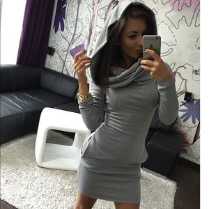 Fashion Women Dress Long Sleeve